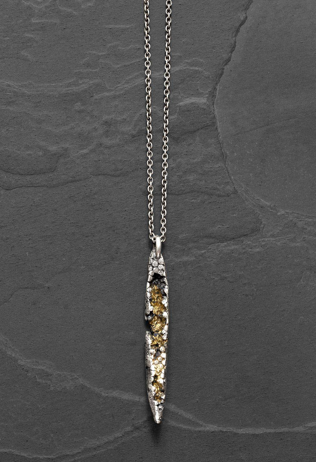 Gold mine necklace