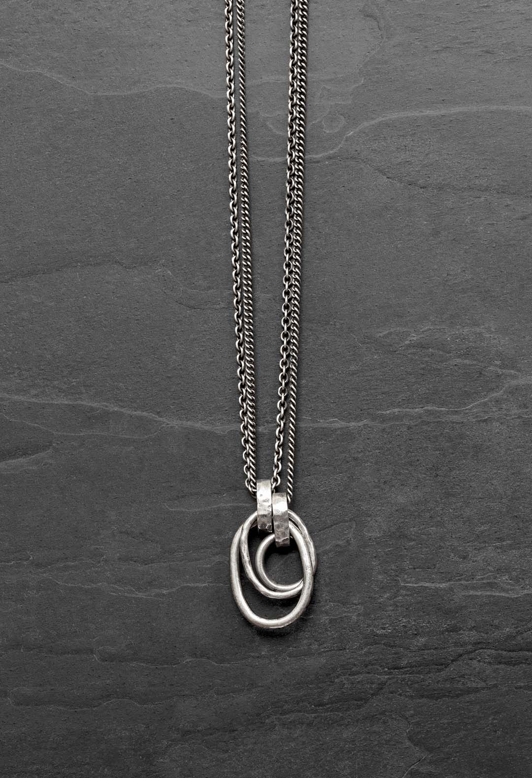 Ring loop necklace